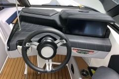 """12.4"""" LINC Panoray Display of the 2021 Nautique G23 Wake Boat"""