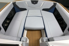 Bow Filler Cushion of the 2021 Nautique G23 Wake Boat