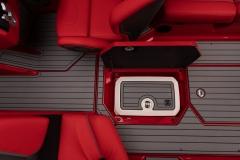 Sub Floor Nautique Cooler on the 2022 Nautique G23 Wake Boat