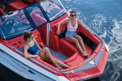 Wide Bow Design of the 2022 Nautique G23 Wake Boat