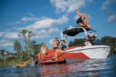 Nautique Lifestyle on the 2022 Nautique G23 Wake Boat
