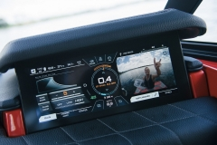LINC Panoray Touchscreen Display of the 2022 Nautique G23 Wake Boat