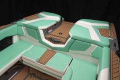 Seadek Vinyl Flooring of the 2022 Nautique G25 Wake Boat