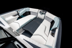 Bow Walk Across on the 2022 Nautique G25 Paragon Wake Boat