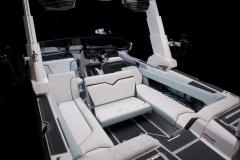 Rear Facing Seats of the 2022 Nautique G25 Paragon Wake Boat