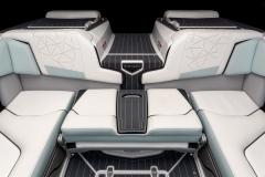 Transom Walk Across on the 2022 Nautique G25 Paragon Wake Boat