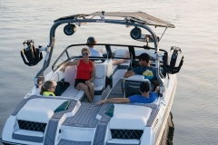 Seating Configuration of a 2022 Nautique GS20 Wake Boat