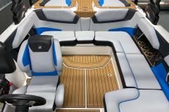 Non-Skid SeaDek Flooring of the 2021 Nautique GS20 Wake Boat