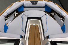 Spacious Bow of the 2021 Nautique GS20 Wake Boat