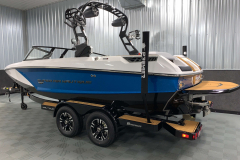Trailer Guide Poles of the 2021 Nautique GS20 Wake Boat
