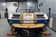 Fiberglass Swim Platform of the 2021 Nautique GS20 Wake Boat
