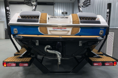 Surf Pipe Exhaust of the 2021 Nautique GS20 Wake Boat