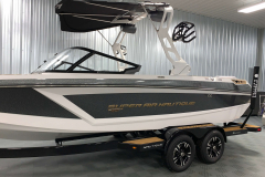 Boatmate Tandem Axle Trailer of the 2021 Nautique GS22 Wake Boat