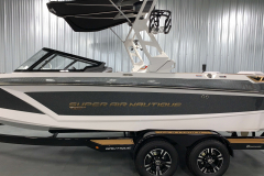 Gold Chromax on the 2021 Nautique GS22 Wake Boat
