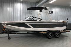 Easy Fold Bimini Top on the 2021 Nautique GS22 Wake Boat
