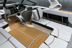 Mojave Accent Piping on the 2021 Nautique GS22 Wake Boat