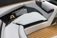 Gunnel Non-Skid SeaDek of the 2021 Nautique GS22 Wake Boat