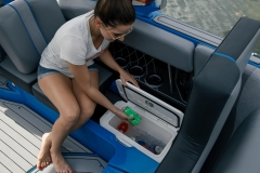 Sub Floor Nautique Cooler on the 2022 Nautique GS22 Wake Boat