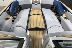 Bow Walk-Across of the 2021 Nautique G25 Paragon Wake Boat