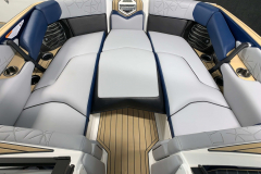 Bow Filler Cushion of the 2021 Nautique G25 Paragon Wake Boat