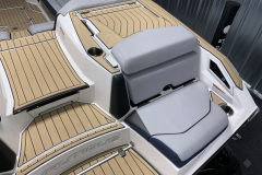 Transom Seat of the 2021 Nautique G25 Paragon Wake Boat