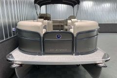 Bow Swim Deck of the 2021 Premier 220 Sunspree RF Pontoon Boat