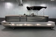 "25"" Pontoon Logs of the 2021 Premier 220 Sunspree RF Pontoon Boat"