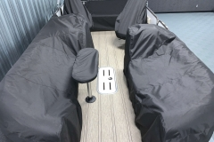 Individual Covers on the 2021 Premier 230 Solaris RL Tritoon Boat