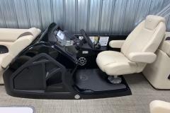 Black Helm Upgrade on the 2021 Premier 230 Sunsation RF Tritoon Boat