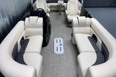 Vinyl Flooring of the 2021 Premier 230 Sunsation RF Tritoon Boat