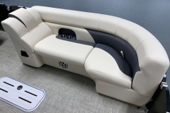 Built-In Cupholders of the 2021 Premier 230 Sunsation RF Tritoon Boat
