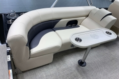 Slim Legacy Table of the 2021 Premier 230 Sunsation RF Tritoon Boat