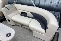 Signature Soft Touch Furniture of the 2021 Premier 230 Sunsation RF Tritoon Boat