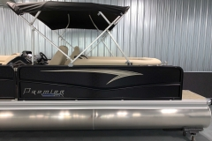 Durable Panels of the 2021 Premier 230 Sunsation RF Tritoon Boat