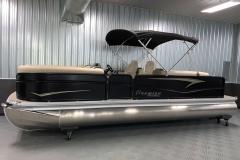 9' Bimini Top of the 2021 Premier 230 Sunsation RF Tritoon Boat