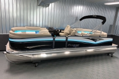Interior/Exterior of the 2021 Premier 250 Intrigue RF Tritoon Boat