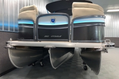 "PTX 36"" Tritoon Package of the 2021 Premier 250 Intrigue RF Tritoon Boat"
