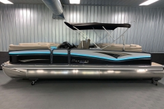 "25"" Outer Logs of the 2021 Premier 250 Intrigue RF Tritoon Boat"