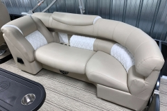 Pinnacle Furniture of the 2021 Premier 250 Intrigue RF Tritoon Boat