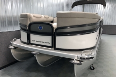 Bow Deck of the 2021 Premier 250 Grand Majestic Tritoon Boat