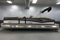 "25"" Outer Logs of the 2021 Premier 250 Grand Majestic Tritoon Boat"