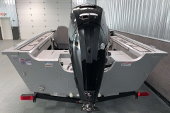 Mercury 90HP Four-Stroke Motor on the 2021 Smoker Craft 161 Pro Angler XL Fishing Boat