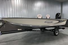 Shoreland'r Trailer of the 2021 Smoker Craft 16TL Angler Fishing Boat