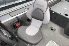 Captain's Chair of the 2021 Smoker Craft 172 Explorer Fish and Ski Boat
