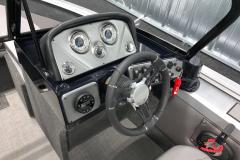 Fiberglass Helm of the 2021 Smoker Craft 172 Explorer Fish and Ski Boat