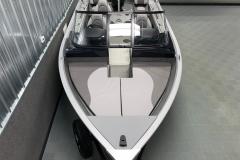 Interior Bow Layout of the 2021 Smoker Craft 172 Explorer Fish and Ski Boat