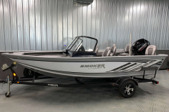 White Exterior Color on the 2021 Smoker Craft 172 Explorer Fish and Ski Boat