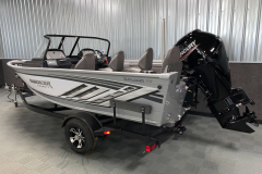 Trailer Load Guides on the 2021 Smoker Craft 172 Explorer Fish and Ski Boat