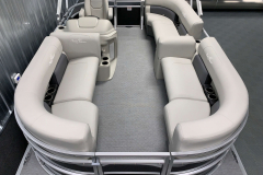 Interior Layout of the 2021 SunChaser 16 LR Pontoon Boat