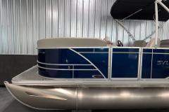 D-Rail Panel Design of the 2021 Sylvan 820 LZ Pontoon Boat